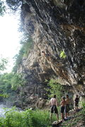Rock Climbing Photo: Hanging out on the Mez with Wei and Isaac on Requi...