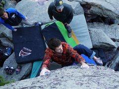 Rock Climbing Photo: Zipperer in style