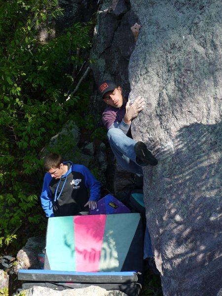 Rock Climbing Photo: Satermo - Scanner