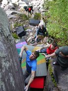 Rock Climbing Photo: There are all sorts of bad beta photos for this pr...