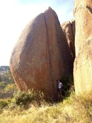 Rock Climbing Photo: Bart Cubrich standing at the start of Pussy Cat's ...