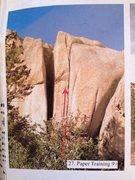 Rock Climbing Photo: Beta photo of Paper Training.