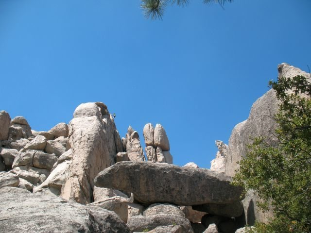 Rock Climbing Photo: Climber at the top of the Katrina Wall, Holcomb Va...