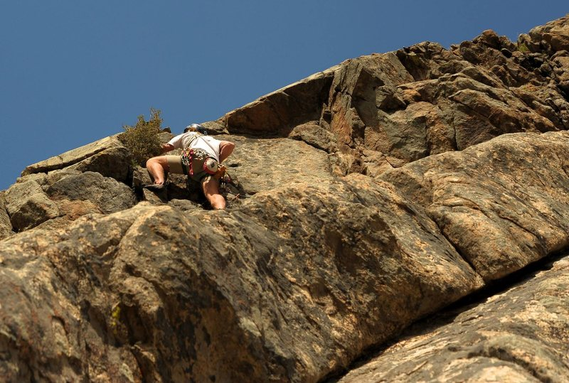 Rock Climbing Photo: C'est variation.