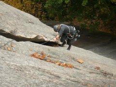 Rock Climbing Photo: Izzie enjoying a classic.
