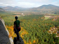 Rock Climbing Photo: Cody takes in the wonderful view at the base of th...