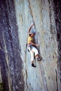 Rock Climbing Photo: Legendary Tahoe crack wizard  Credit: Mark Hudon