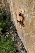Rock Climbing Photo: Great route.  Photo courtesy of Ben Walburn.