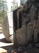 Rock Climbing Photo: Split Block in Donner SP.