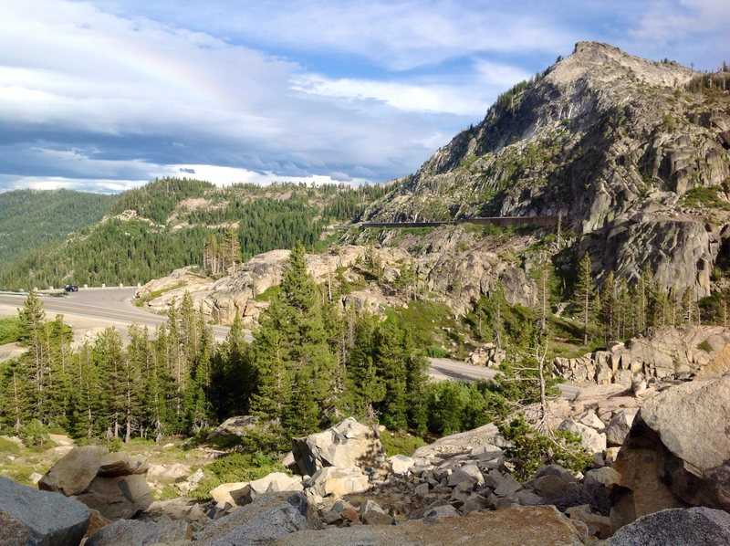 Rock Climbing Photo: Donner Pass Truckee California