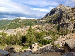 Rock Climbing Photo: Donner Pass Truckee California