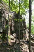 Rock Climbing Photo: Rock climbing at the Marlow Profile.
