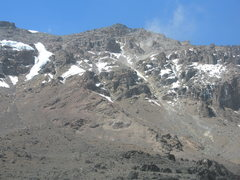 Rock Climbing Photo: Western Breach Route - Kilimanjaro
