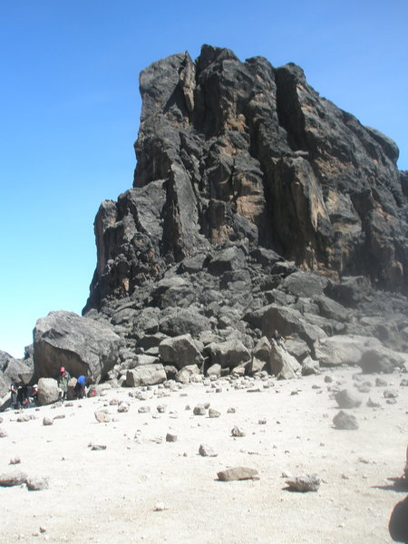Rock Climbing Photo: Lava Tower - didn't have time to climb it on this ...