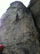 Rock Climbing Photo: Babe-a-licious