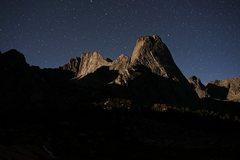 Rock Climbing Photo: Pingora at night