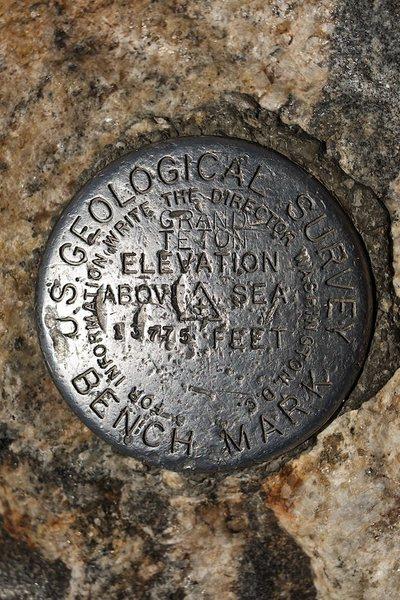 The Grand Teton Summit