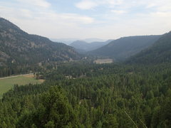 Rock Climbing Photo: The Kettle Valley - looking east from the top of L...