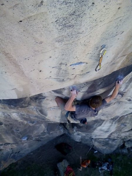 Rock Climbing Photo: Flambe 12+