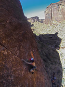 Rock Climbing Photo: Working class hero