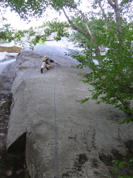 Rock Climbing Photo: Psychotic friction.