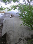 Rock Climbing Photo: Psychotic friction.