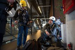 Rock Climbing Photo: rescue practice