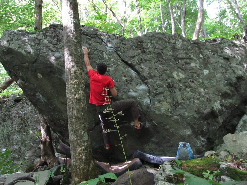 """Parlier climbing """"Rooster"""""""
