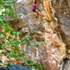 Robin Maslowski climbs Mogo