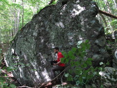 Rock Climbing Photo: Trillium Boulder