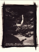 Rock Climbing Photo: Morrison, Black Hole, Cytogrinder platinum print f...