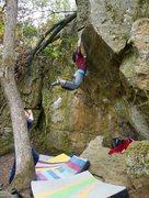 Rock Climbing Photo: Katie