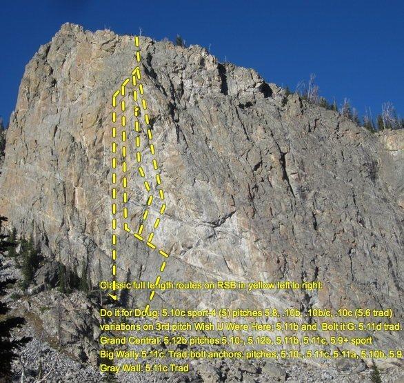 Rock Climbing Photo: RSB