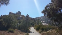 """Rock Climbing Photo: A view of """"Tower 1 Area"""" from the road a..."""