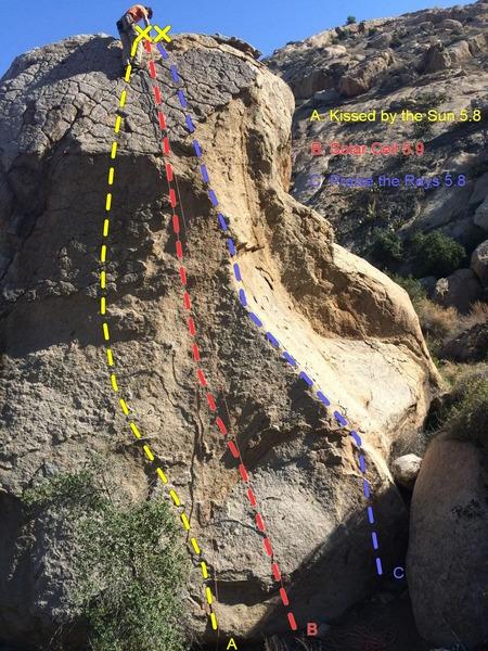 Rock Climbing Photo: Helios Boulder