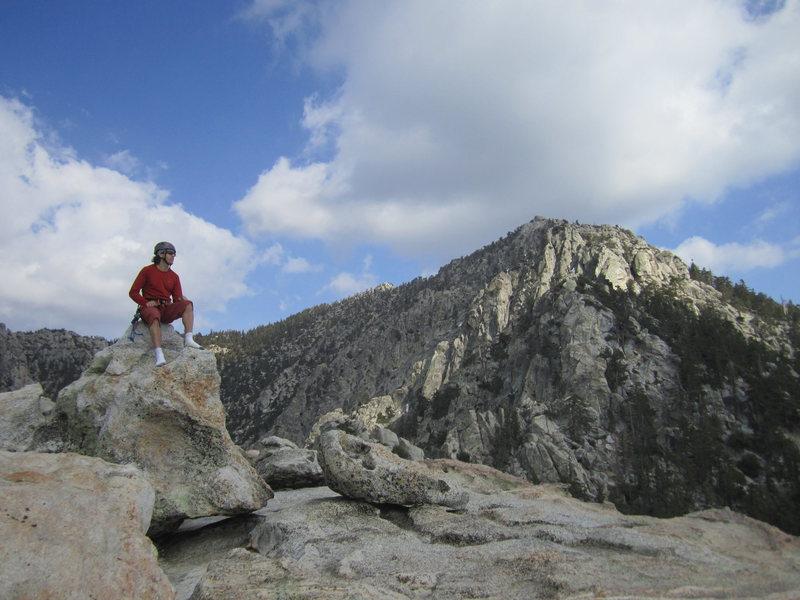 Top of Tahquitz Rock