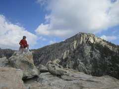 Rock Climbing Photo: Top of Tahquitz Rock