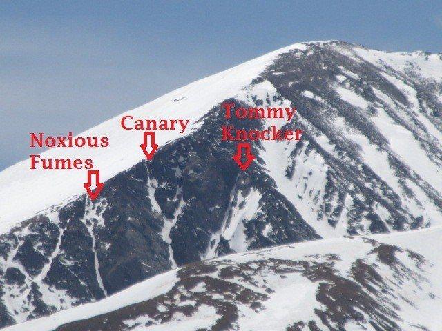 Rock Climbing Photo: North Face of Quandary Peak.