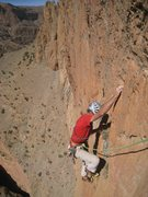 Rock Climbing Photo: a friend of mine in Shucran, Taghia