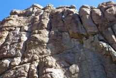 Rock Climbing Photo: Fun finish to Surfin Safari.