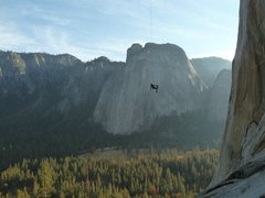 Rock Climbing Photo: el cap rope swing