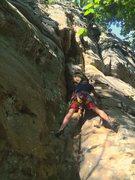 Rock Climbing Photo: Dave Hug during a fun solo