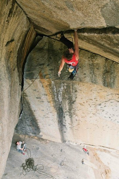 Rock Climbing Photo: Alain De la Tejera on Separate Reality  www.facebo...