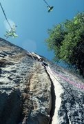 Rock Climbing Photo: The 10b hands start to The Bin