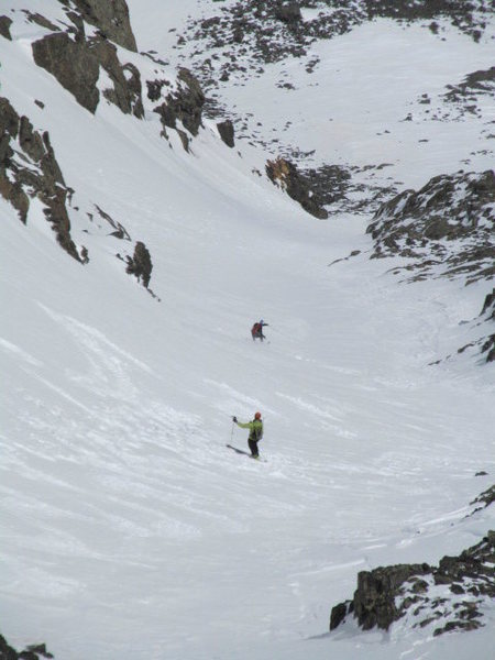Rock Climbing Photo: Their skiing ability was on par with their decisio...