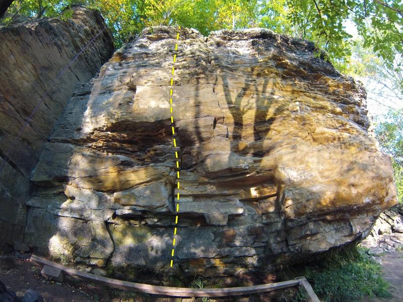 Rock Climbing Photo: Route for Brachiator
