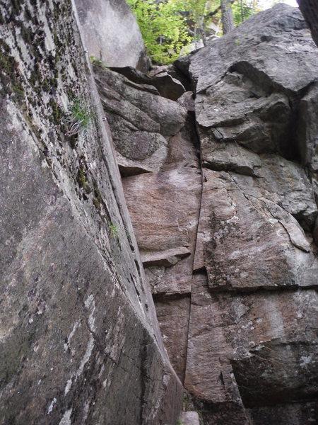 Rock Climbing Photo: Mentally Disturbed