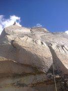 Rock Climbing Photo: White Lightning, Indian Rock, South Lake Tahoe