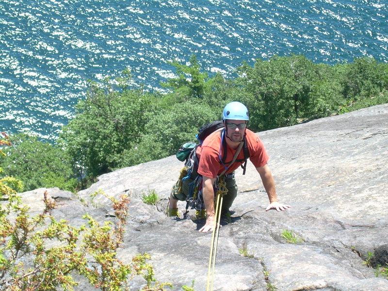 Rock Climbing Photo: Rogers Rock
