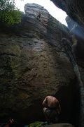 Rock Climbing Photo: Me on Dreamscape 5.11c/d Lead climb